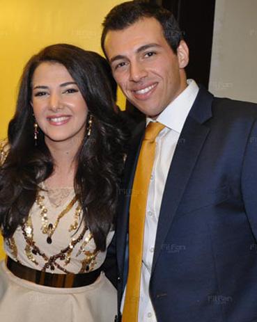زوج دنيا سمير غانم الاول