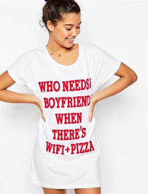 Asos-Valentine-Who-Needs-Love-Oversized-Tee
