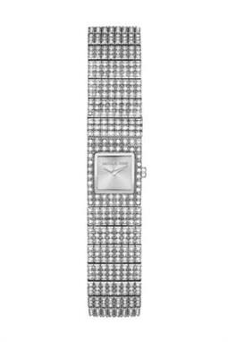 ساعة ماركة Micheal Kors Cocktail Silver-Tone Watch