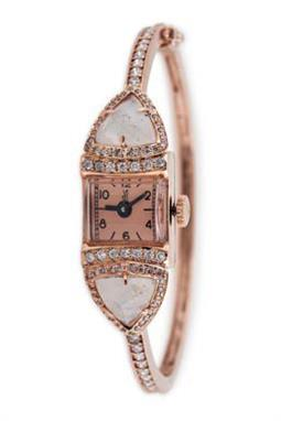 ساعة ماركة Jacquie Aiche Moonstone Triangle Watch