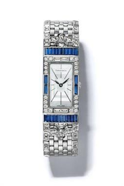 ساعة ماركة Tiffany Art Deco 2-Hand Watch