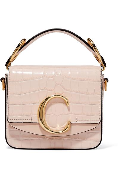 - حقيبة ماركة Chloe C Mini Shoulder Bag