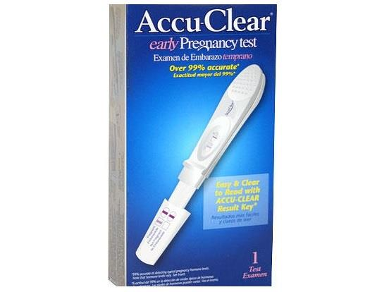 اختبار الحمل Accu-Clear Early Pregnancy Test