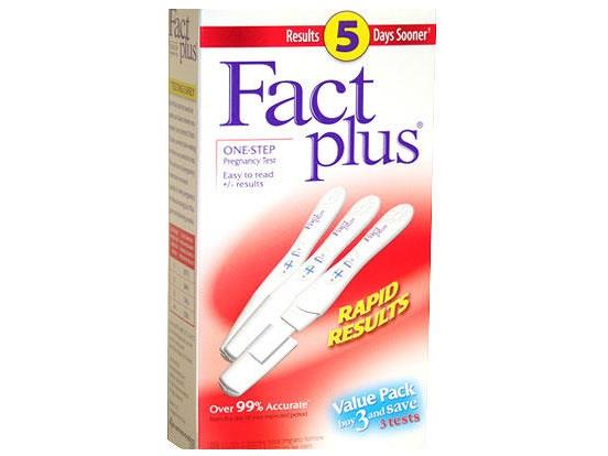 اختبار الحمل Fact Plus One-Step Pregnancy Test