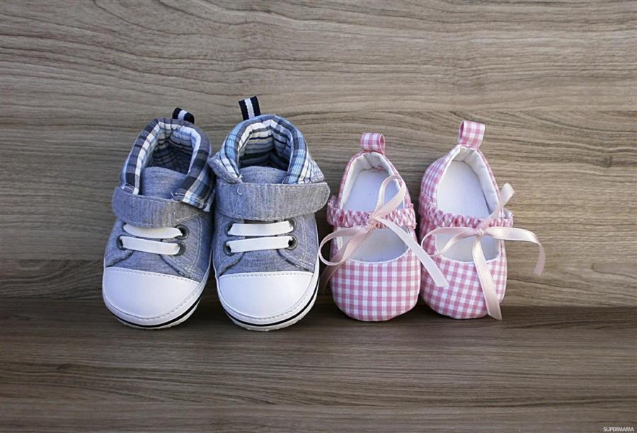 الحذاء المناسب للطفل المبتدئ فى المشى الجمال نت