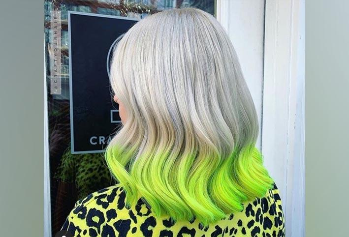 تحلى بالثقة أجر سترة صبغة مصححة لصبغة الشعر باللون الأخضر Dsvdedommel Com